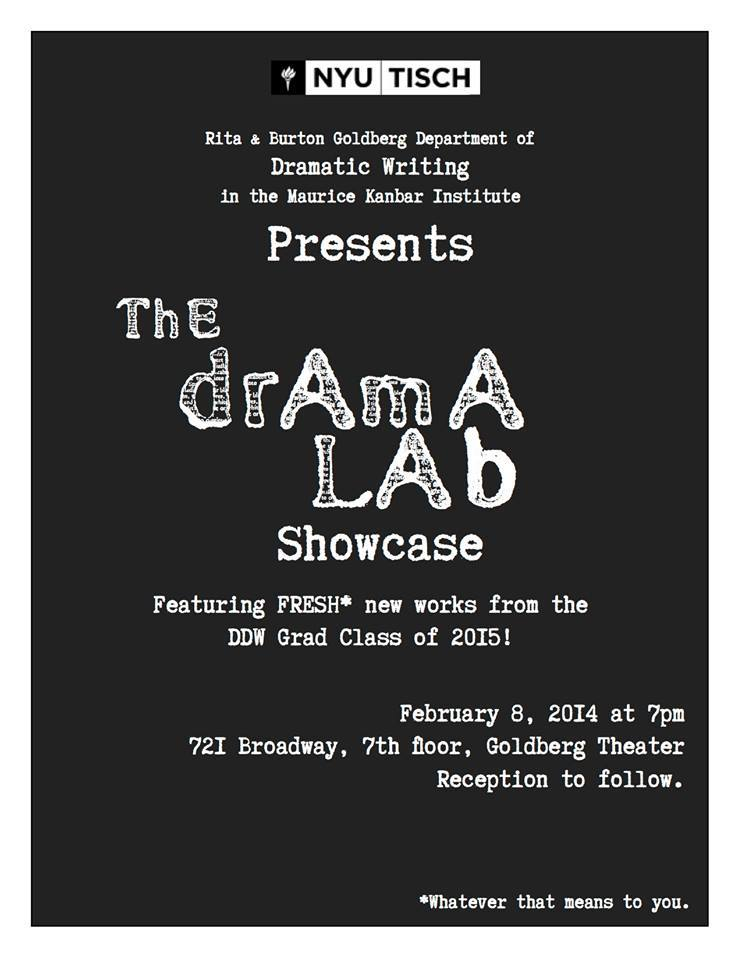 NYU MFA Drama lab