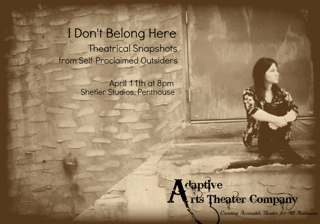 Adaptive Arts - I Don't Belong Here